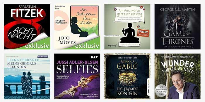 Audible Bestseller Gutschein