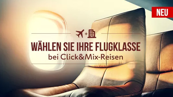 Expedia Click&Mix Angebote
