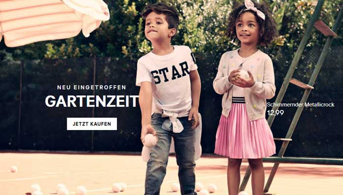 H&M Kinder Sortiment