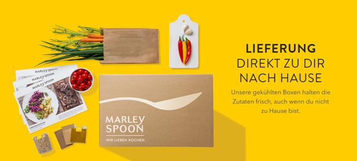 Marley Spoon Lieferung