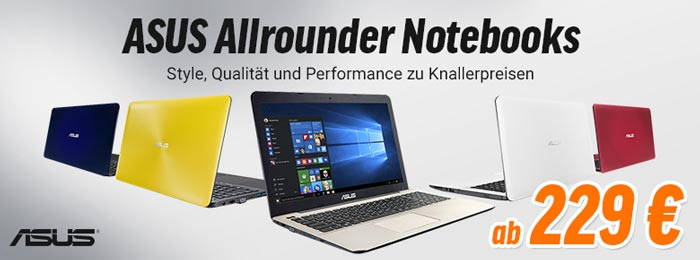 Notebooksbilliger ASUS Laptops