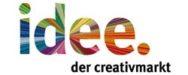 idee. der Creativmarkt Logo